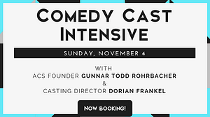 Comedy Acting Studio Class Los Angeles